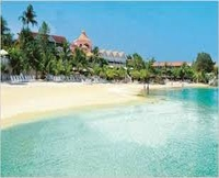Cayos Coco beach