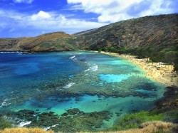 Hanauma Bay Nature Preserve beach