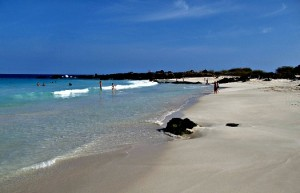 Manini'owali beach