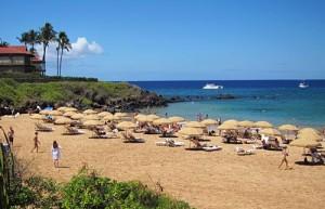 Wailea island Beach