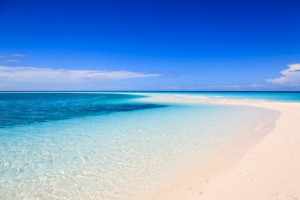 beautiful white sand beaches