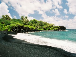 Best black sand beaches