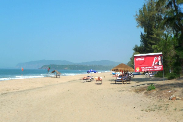 Agonda Beach, Goa- A pristine one