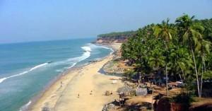 Varkala Beach, Kerala.
