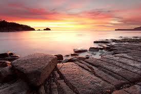 Pirates Bay Beach, Tasmania