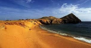 Cabo de la Vela beach