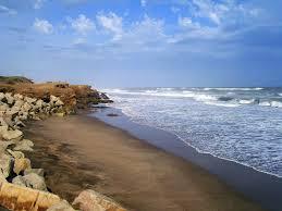 Necochea beach