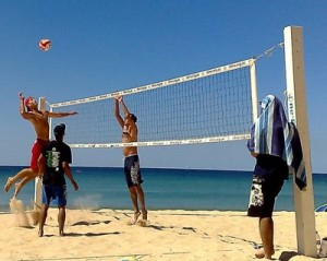 best beach sports and activities