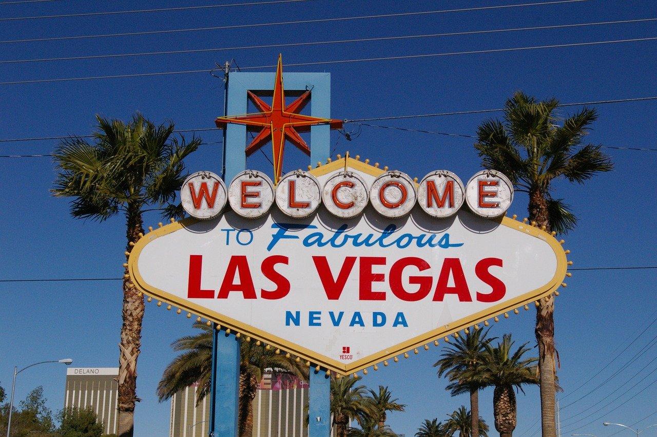 cruising the strip in Vegas