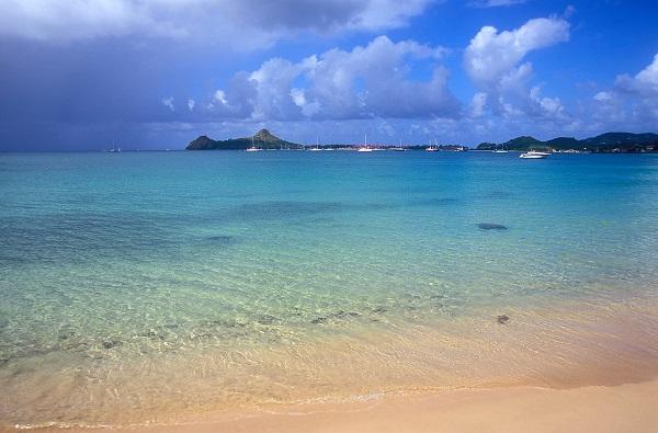 Reduit beach –  Saint Lucia