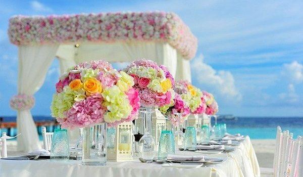 Beach wedding destinations in the United Kingdom