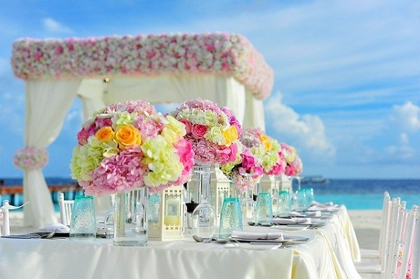 Beach wedding destinations in the United Kingdom