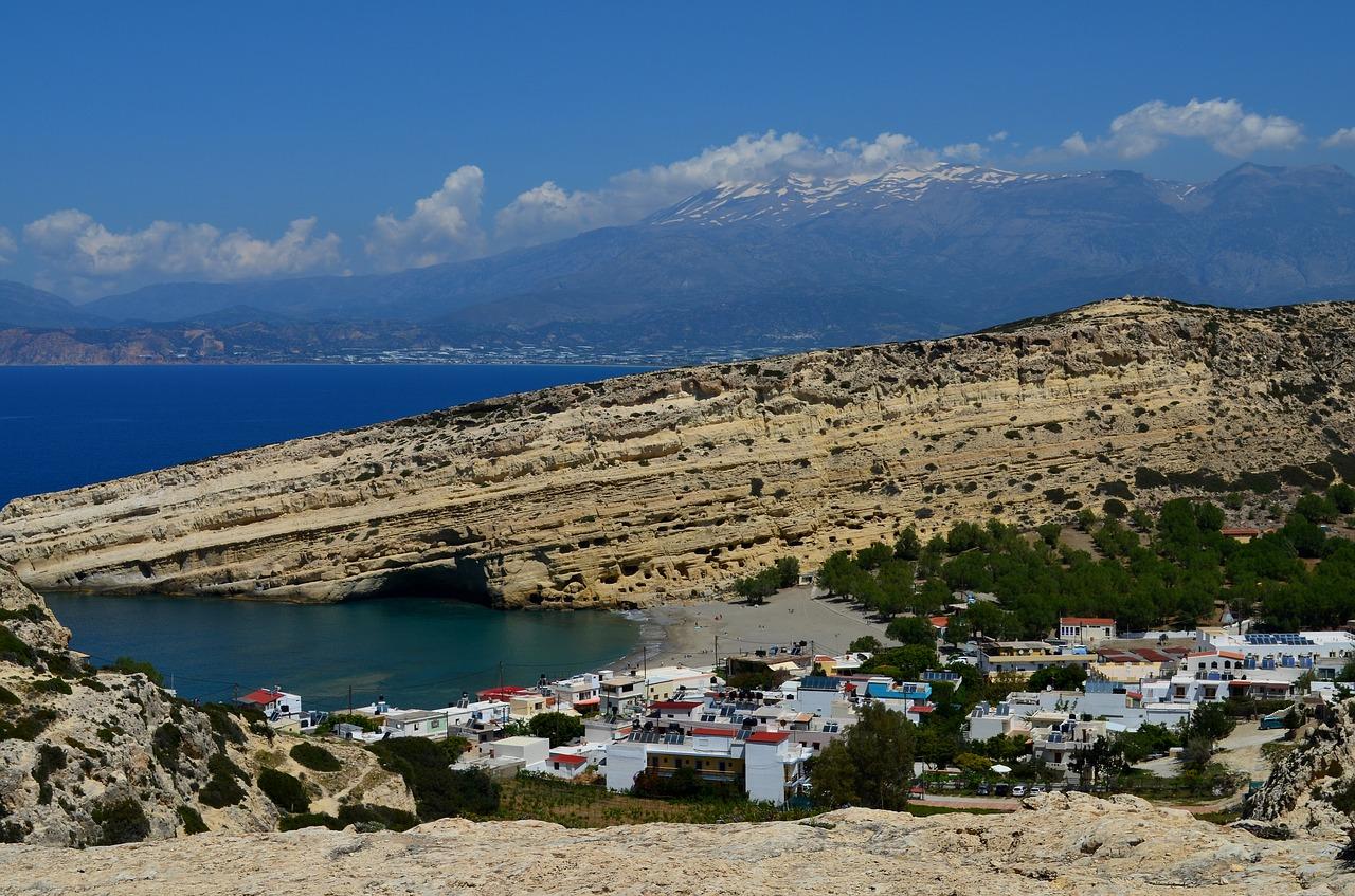 Matala Greece