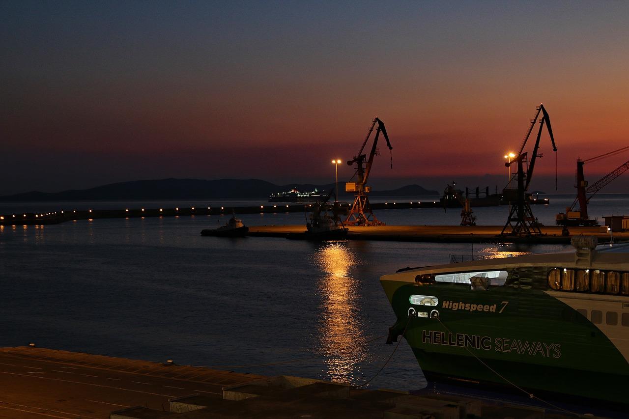 Port heraklion Crete